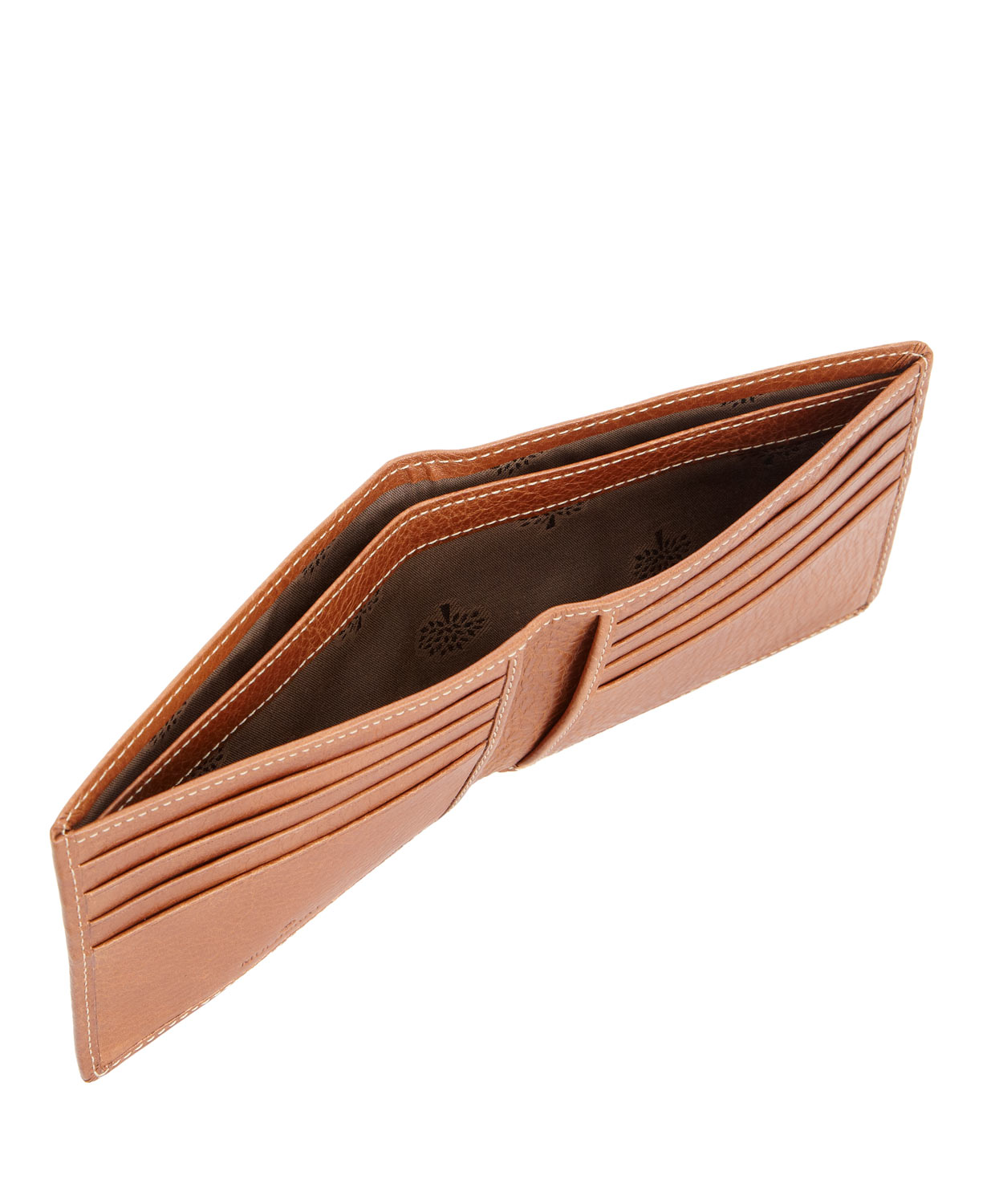 e79c49996a Lyst - Mulberry Tan Leather 8 Card Wallet in Orange for Men