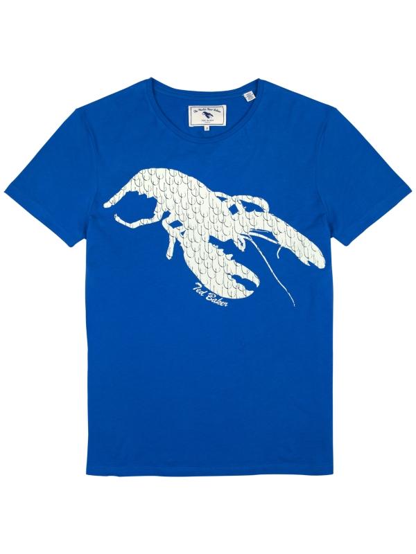 438599174ce7 Ted Baker Ted Baker Hokspat Lobster Tshirt in Blue for Men - Lyst