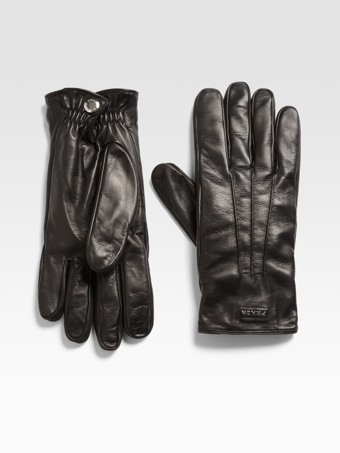 Prada mens leather gloves - Gallery Previously Sold At Saks Fifth Avenue Men S Leather Gloves