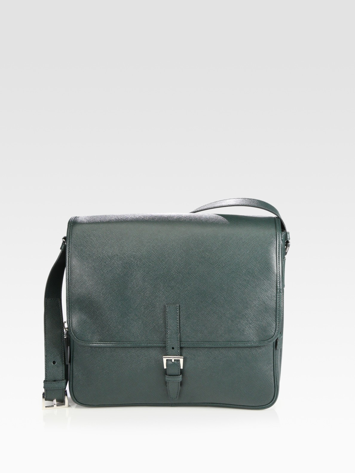 de92a4fd3bca Prada Messenger Bag Green | Stanford Center for Opportunity Policy ...
