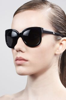 Stella Mccartney Sunglasses Rounded Plastic Sunglasses - Lyst