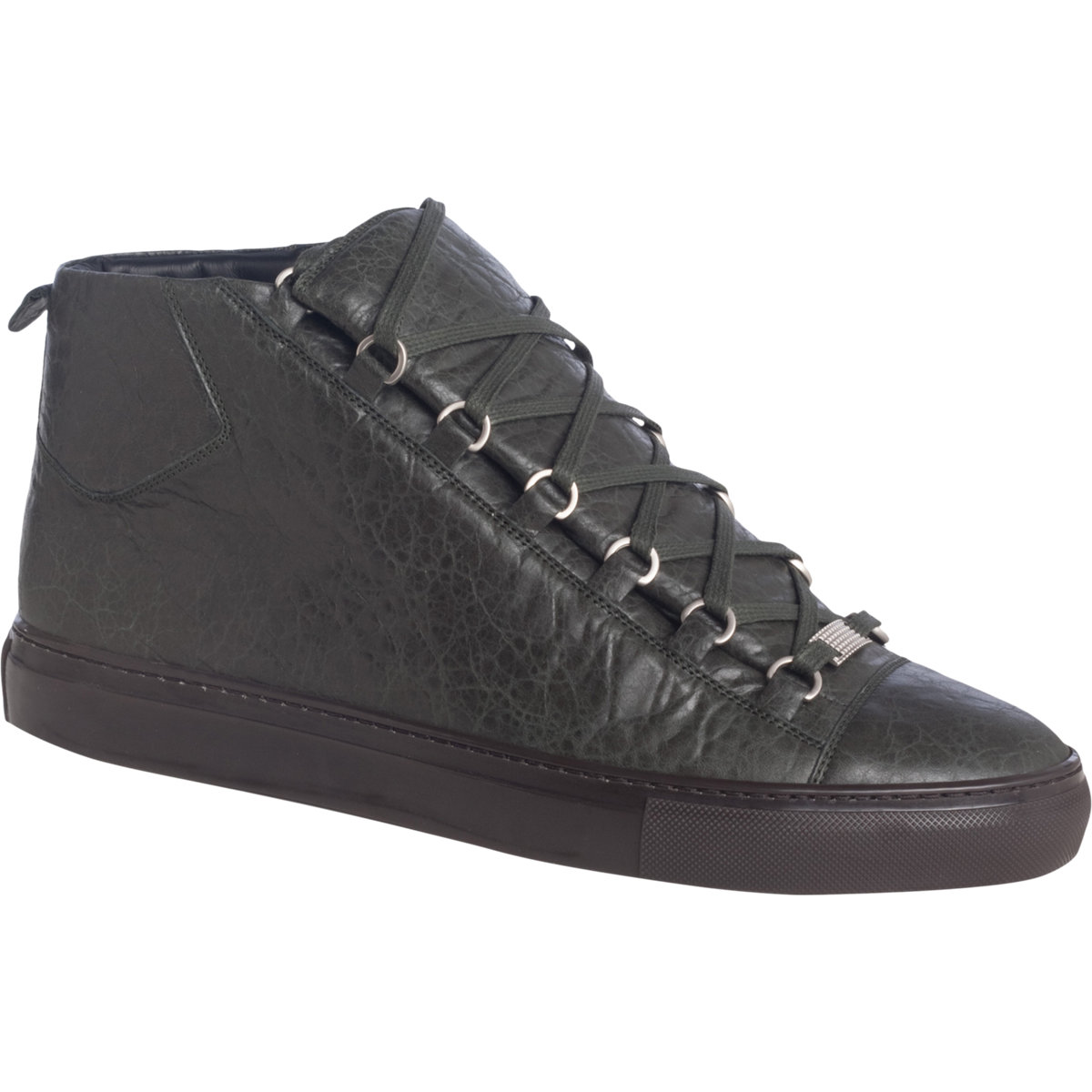 best service d38d2 f0cea Balenciaga Arena High Trainers in Gray for Men - Lyst