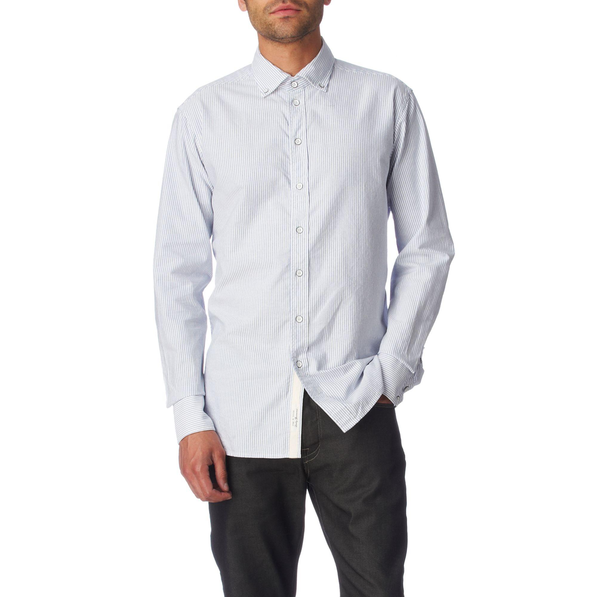 rag amp bone buttondown oxford regular fit single cuff shirt