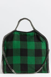 Stella McCartney Falabella Coat Small Fold Over Tote - Lyst