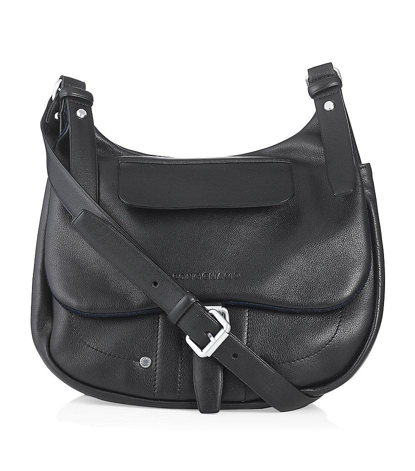 18ce73e2e9b Longchamp Balzane Crossbody Bag in Black - Lyst