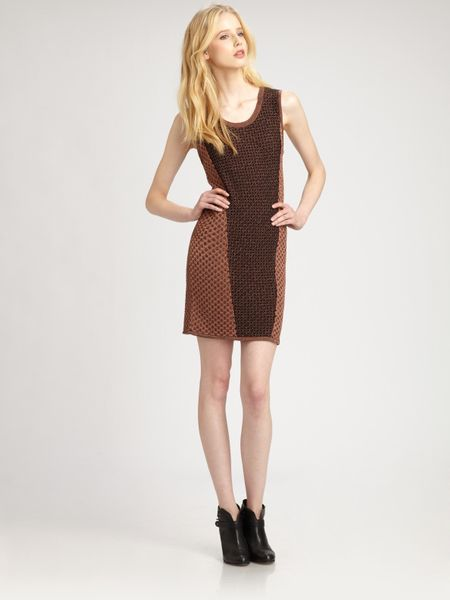 Rag & Bone Amanda Dress in Brown (copper)