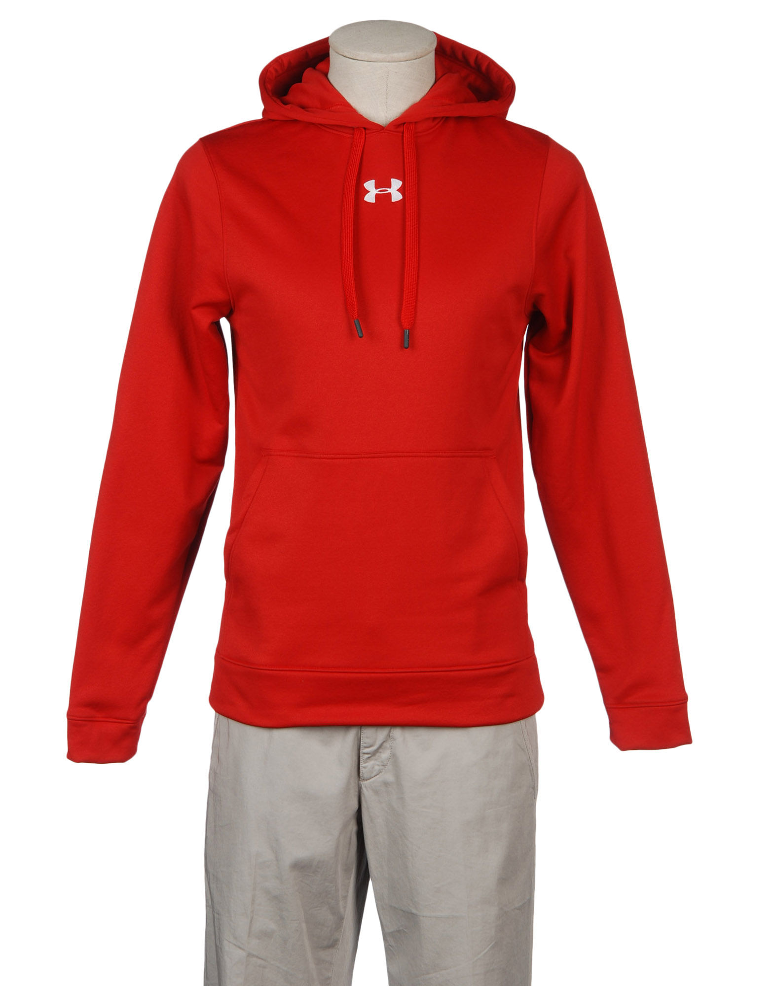 Under armour sweatshirts for men red