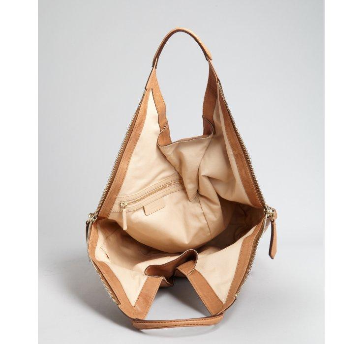 9975a12ac1 Givenchy Camel Leather Tinhan Medium Shoulder Bag in Natural - Lyst