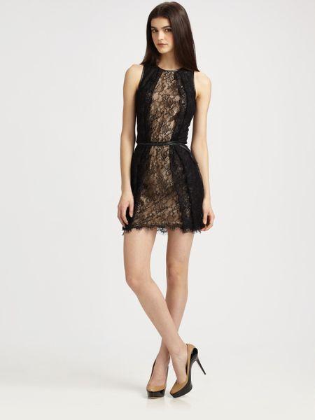 Sachin & Babi Mckenzie Lace Dress in Black (onyx)