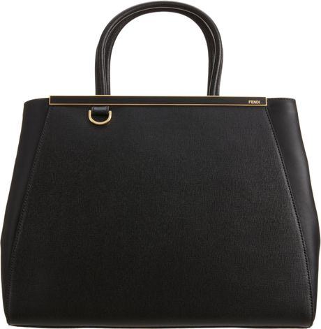 Fendi 2jours in Black (gold)