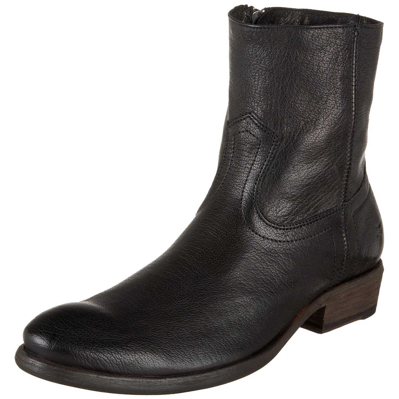 frye frye mens carson insidezip boot in black for lyst