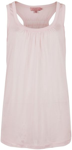 Ted Baker Kylon Racer Back Vest Top - Lyst