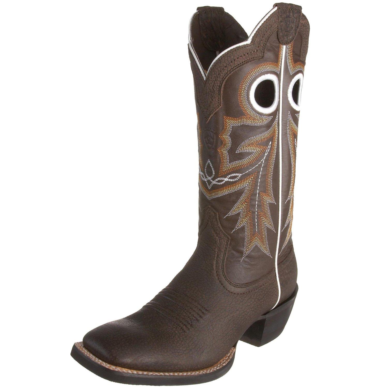 ariat ariat mens wildstock boot in brown for mocha