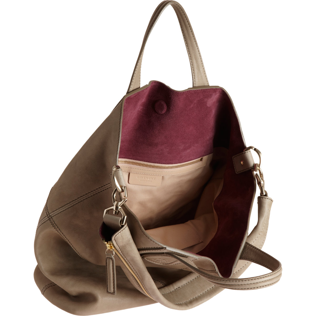 Givenchy Nightingale Zanzi Shopper Tote in Natural - Lyst ec0aa5a9992fb