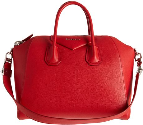 Givenchy Medium Antigona Duffel in Red (black) - Lyst