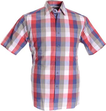 Double Two Bar Harbour Casual Check Shirt - Lyst