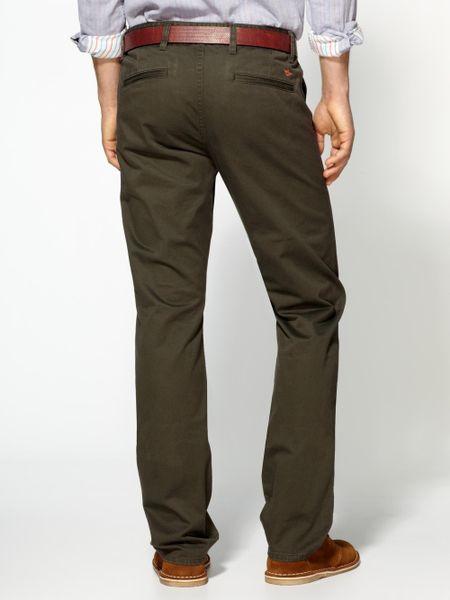 Dockers Alpha Khaki Slim Pants In Green For Men Rifle