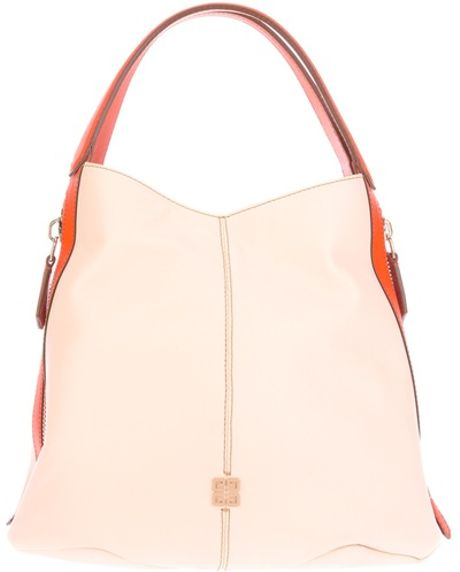 Givenchy Two Tone Tote Bag in Beige (nude)