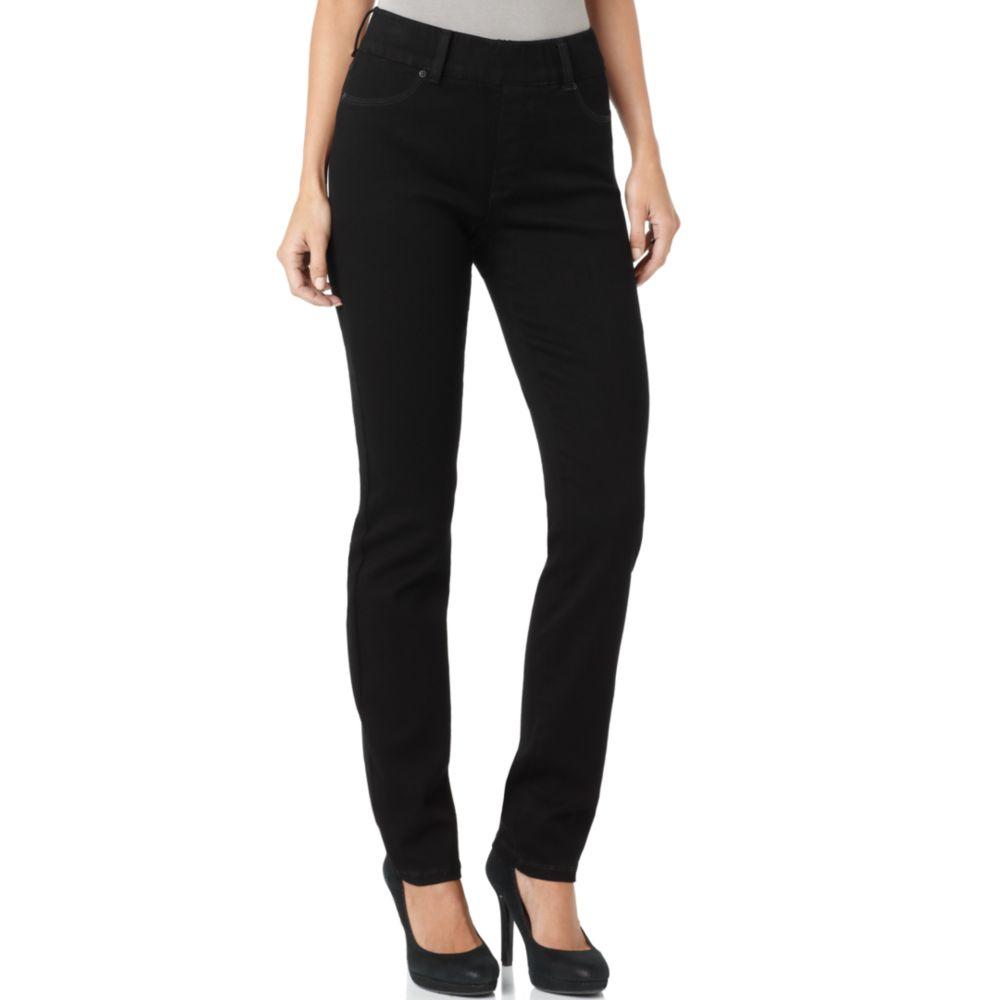not your daughter 39 s jeans zury jegging skinny jeans black. Black Bedroom Furniture Sets. Home Design Ideas