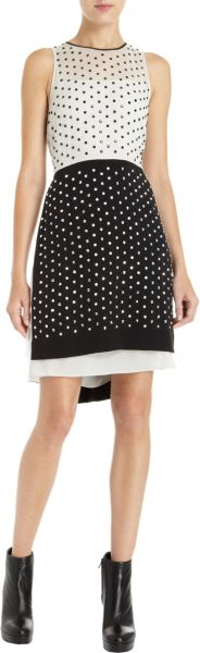 Diane Von Furstenberg Abrielle Dress in Black