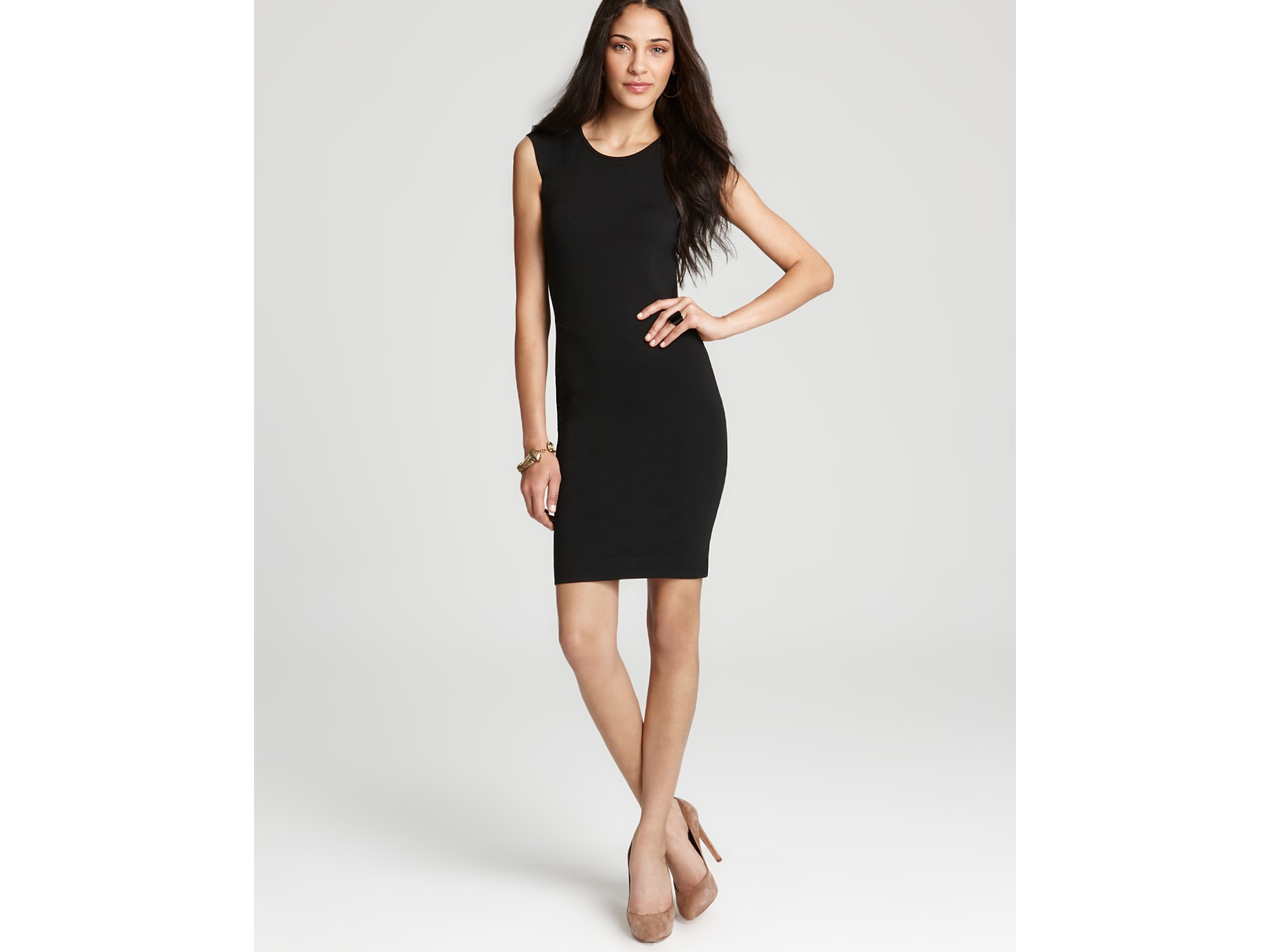 French Connection Dress Dani Lace Open Back In Black Lyst