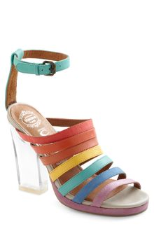 ModCloth Rainbow Where You Please Heel - Lyst