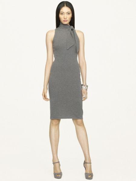 Ralph Lauren Grey Dress