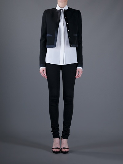 Givenchy Box Jacket in Black | Lyst
