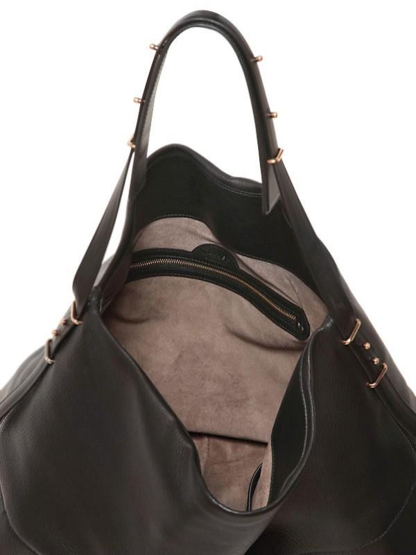 Maiyet Leather Large Hobo Shoulder Bag in Black | Lyst