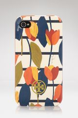 Tory Burch Iphone Case Tapioca