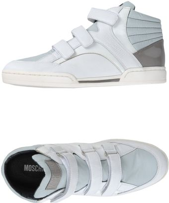 Moschino Hightop Sneaker - Lyst