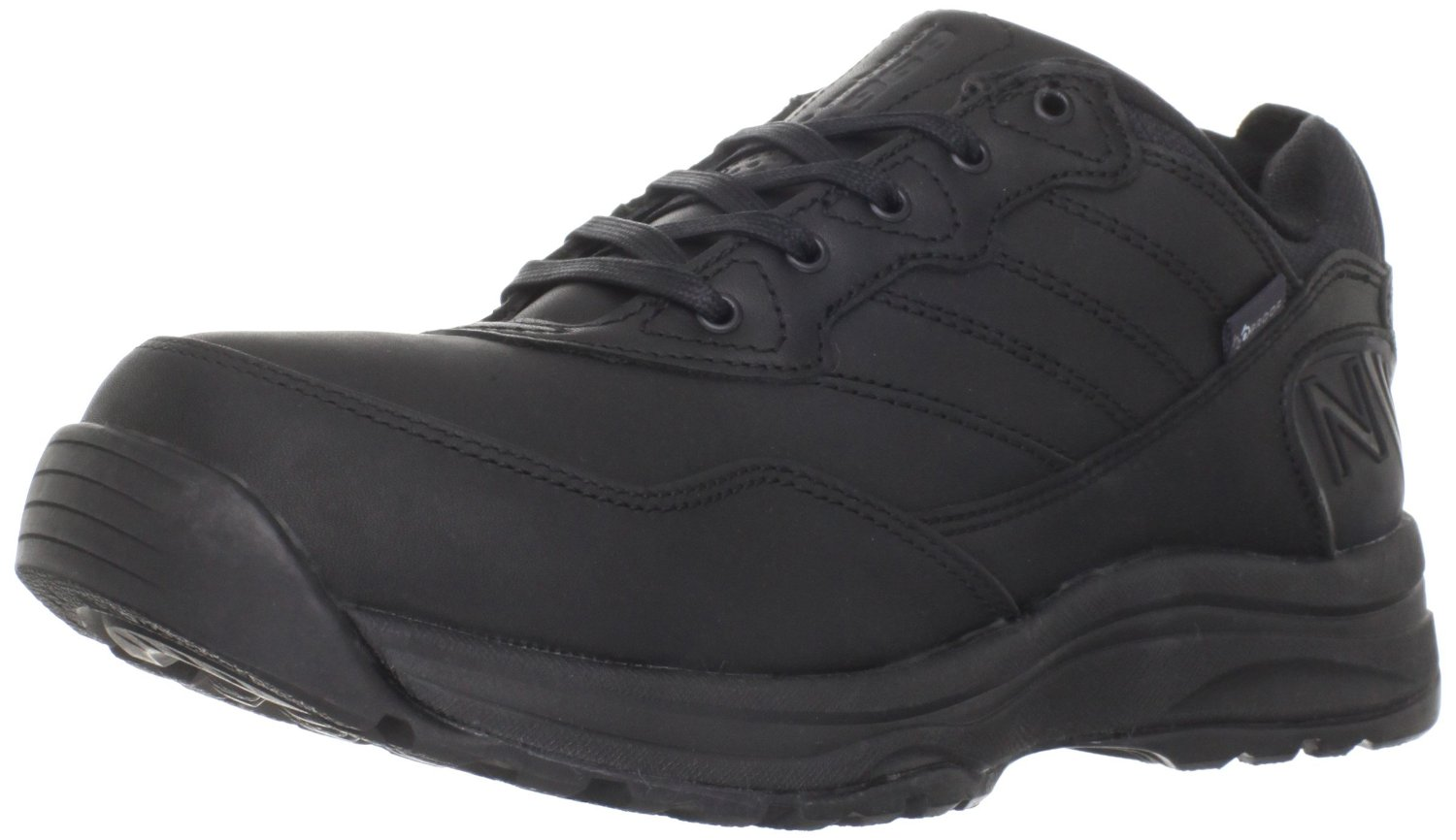 new balance mens mw968 country walking shoe in black for