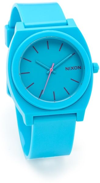 Nixon The Time Teller P Watch in Blue