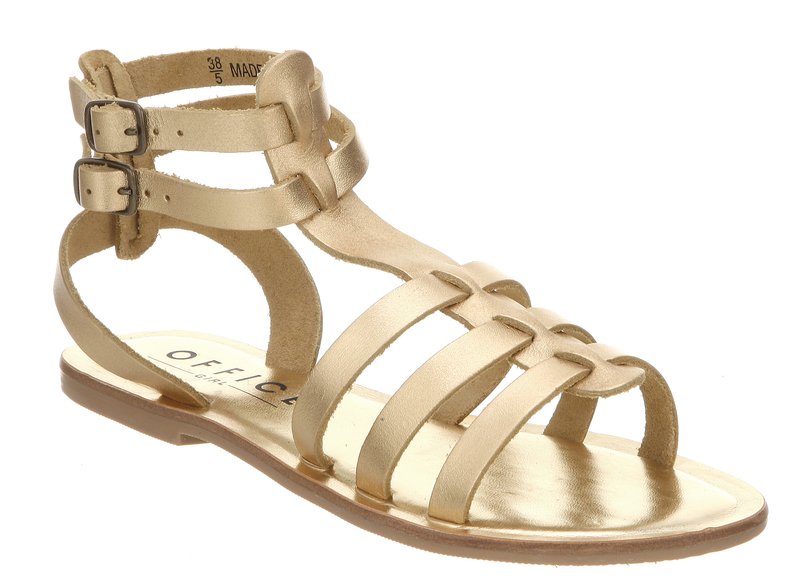 Gallery Women S Gladiator Sandals Gold