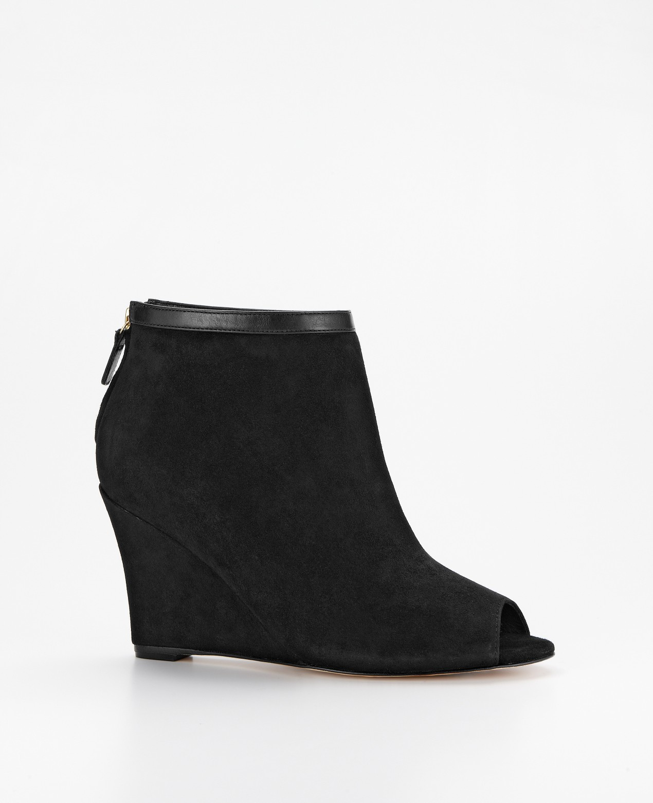 Find black peep toe wedge booties at ShopStyle. Shop the latest collection of black peep toe wedge booties from the most popular stores - all in one.