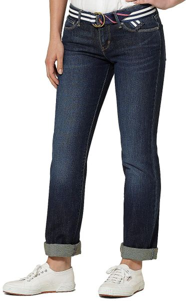 Brooks Brothers Bold Curve Levis Straight Leg Jeans in Blue (classic-rinse)