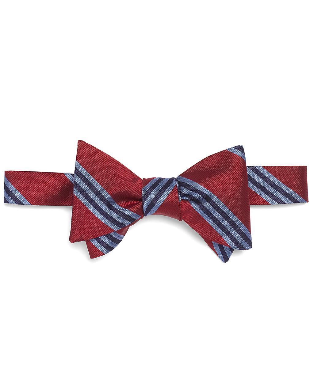Brooks brothers Bb#1 Repp Bow Tie in Red for Men (red ...