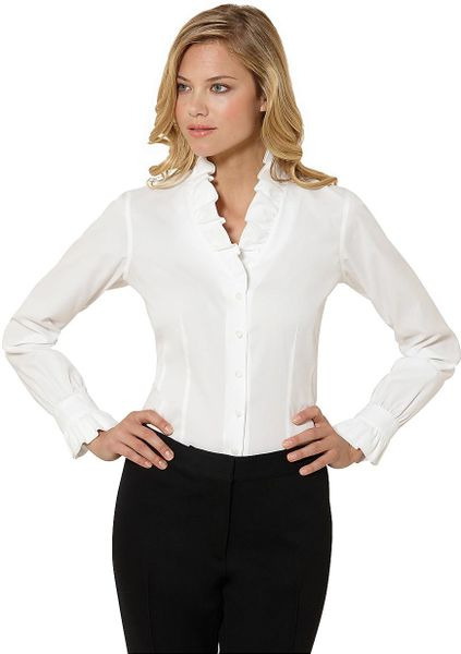 Brooks Brothers White Blouse 107