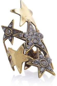 Emilio Pucci Crystal embellished Star Ring - Lyst
