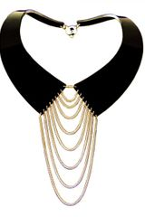 Zelia Horsley Jewellery Collared Necklace Gold