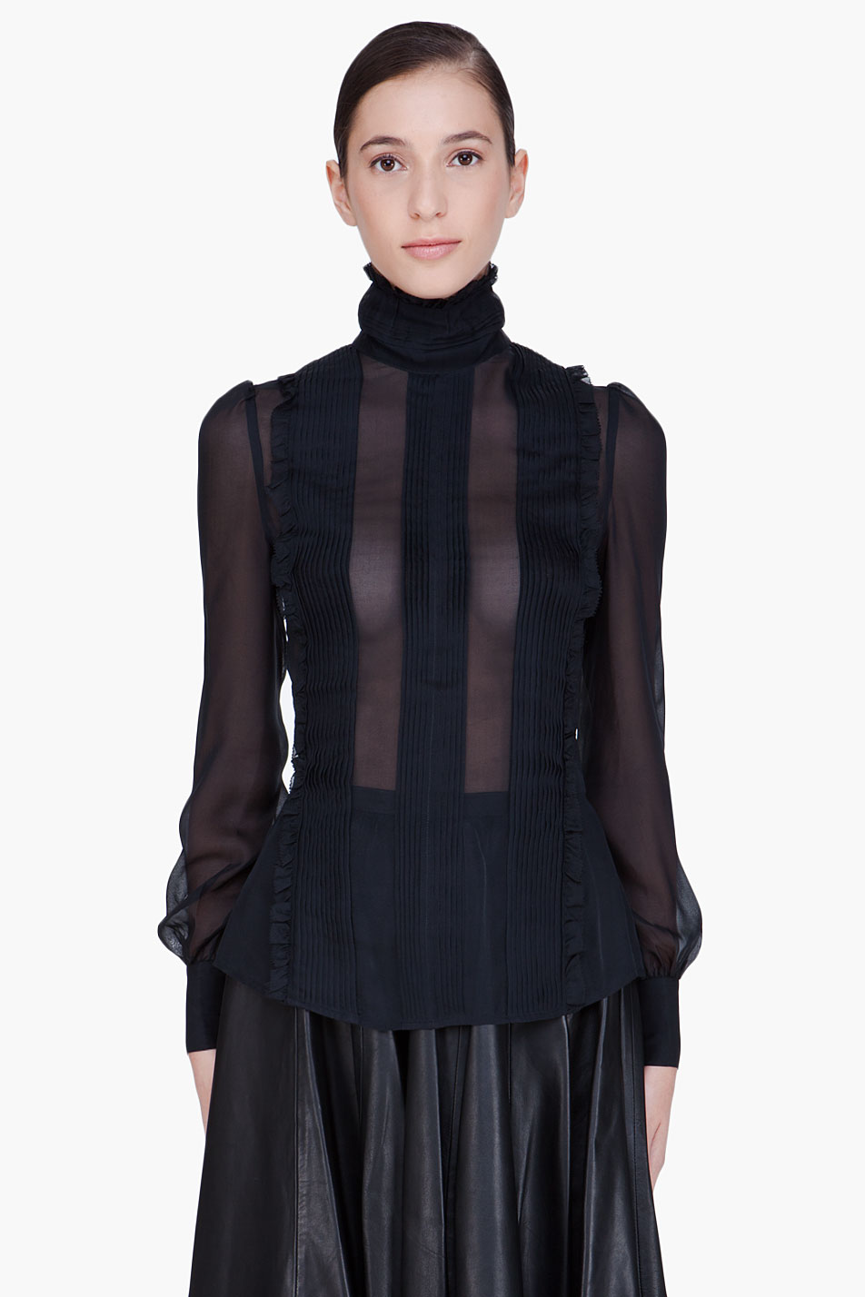 Shop for black sheer blouse at ingmecanica.ml Free Shipping. Free Returns. All the time.