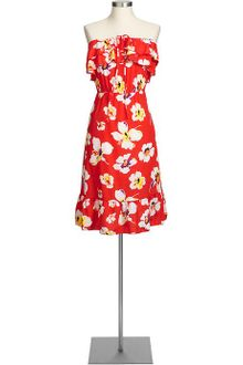 Shift Dress on Old Navy Crepe Shift Dresses In Red  Red Print    Lyst