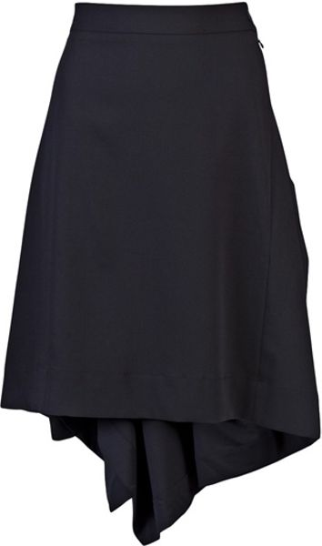 Vivienne Westwood Anglomania Alias Skirt in Black
