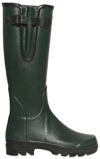 Le Chameau Waterproof Natural Rubber High Boots - Lyst
