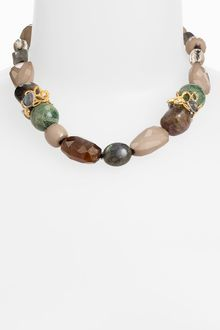 Alexis Bittar Elements Siyabona Stone Necklace - Lyst
