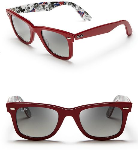 6654d45cb1 Ray Ban Wayfarer Red And Blue « Heritage Malta