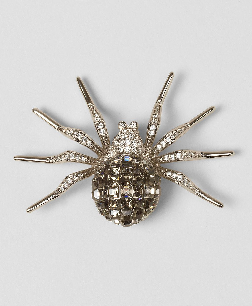 Ben-Amun Crystal Spider & Insect Pin