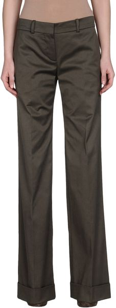 Chloé Dress Pants in Brown (green)
