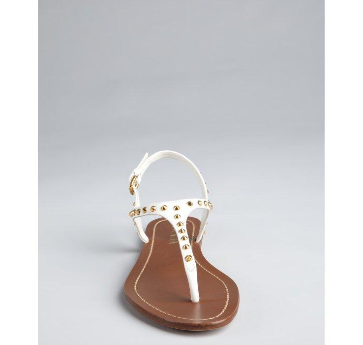 Studded sandals - White Prada jvlY5j1Z