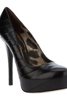 Dolce & Gabbana Leather Pump - Lyst